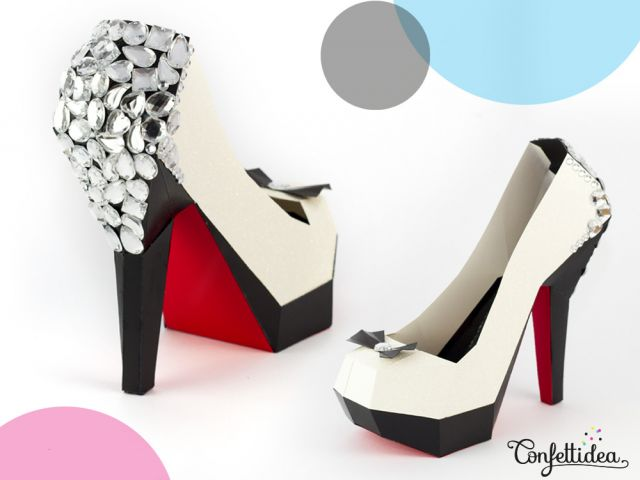 Louboutin Paper Shoes