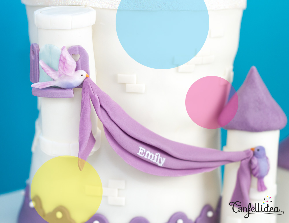 princess sofia cake castle