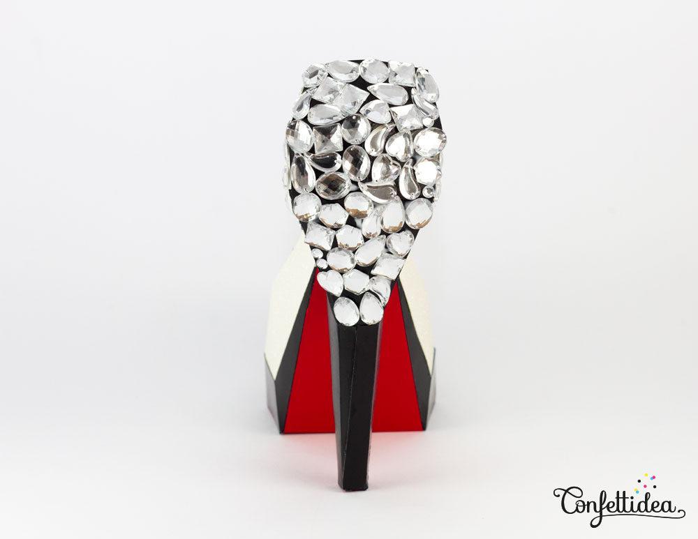 Chaussure louboutin en papier confettidea - Boulette papier mariage ...