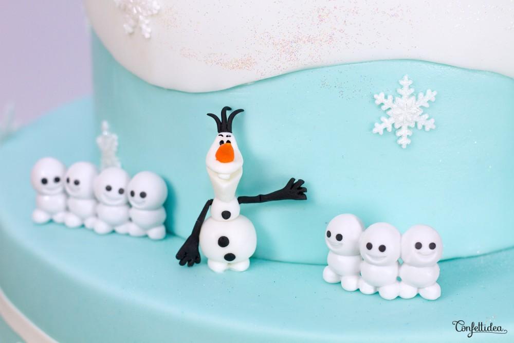 Frozen Cake, Reine des neiges