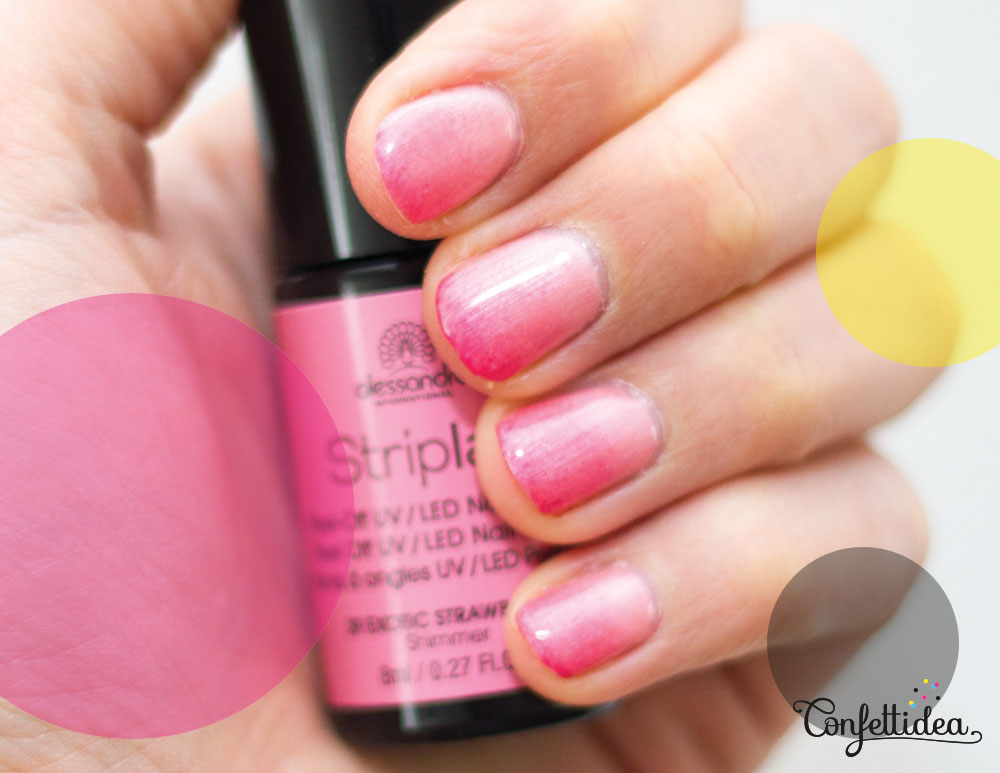 Pink Ombre Gradient Nails Confettidea