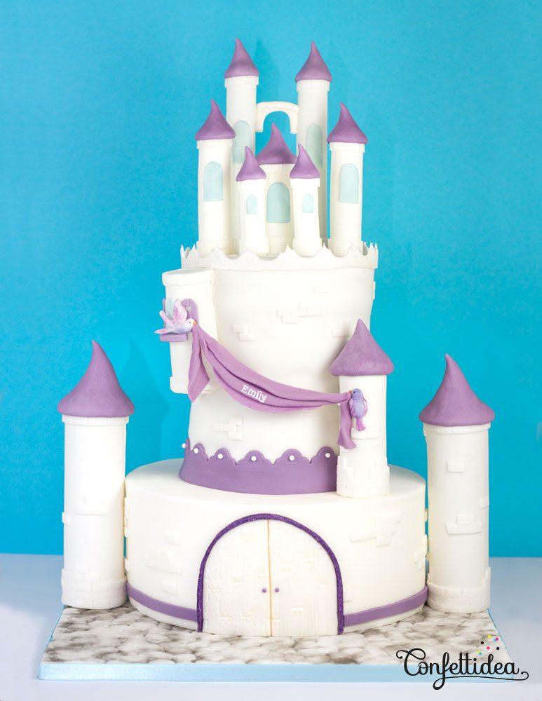 Princess Sofia Castle Cake Confettidea