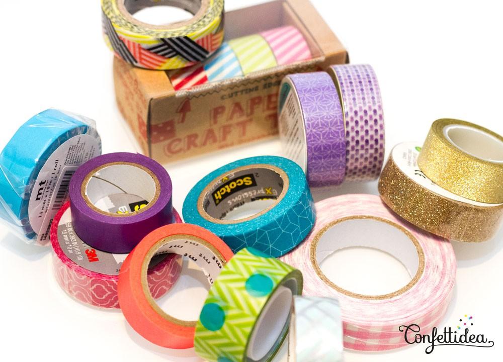 Le washi tape habille mes portes confettidea - Qu est ce que le masking tape ...